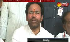 Congress TRS has not developed in Patabasti Says Kishan Reddy - Sakshi