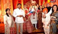 AP CM YS Jagan Attends Marriage Function At Lucknow