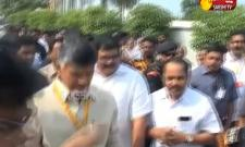 Break For Chandrababu Naidu Praja Chaitanya Yatra