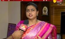 MLA Roja Takes On Chandrababu Over Bus Yatra