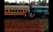 Coaches of Shirdi Express Detached From Engine in Vijayawada - Sakshi