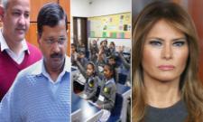 Arvind Kejriwal And Manish Sisodia Not Invited For Melania Trump School Visit - Sakshi