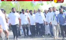 MLA  Jagan Mohan Rao Padayatra in Krishna District
