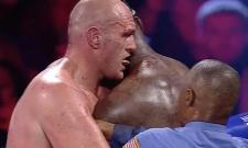Tyson Fury Tastes Deontay Wilder's Blood After Clinch WBC Title - Sakshi