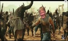 Donald Trump Retweets About Morphed Baahubali Video Became Viral - Sakshi