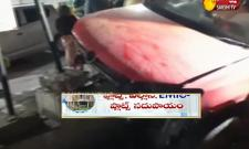 Car Accident In Banjara Hills - Sakshi
