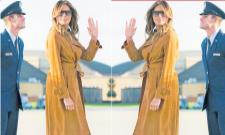 Melania Trump Is Fashion designer tO Us first lady - Sakshi