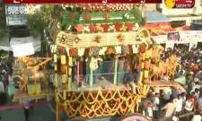 Special Pooja's For Amaravathi Rathotsavam Celebrations