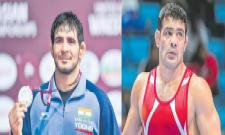 Jitender clinches silver in Asian Wrestling Championship - Sakshi