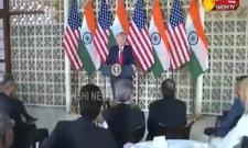 Donald Trump Speech At Delhi US Embassy- Sakshi
