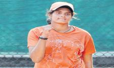 Sanjana Reached To Final In French Open Wild Card Tourney - Sakshi