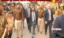Delhi,NSA Ajit Doval visits violence-hit areas - Sakshi
