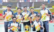 Andhra University Gold Medal In Khelo India - Sakshi