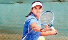 Sowjanya Bavisetti Selected to Fed Cup Asia - Sakshi