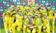 Australia Won The T20 Series Against South Africa - Sakshi