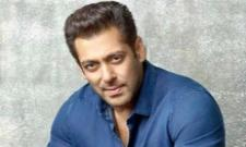 Bollywood Hero Salman Khan Support To Janata Curfew - Sakshi