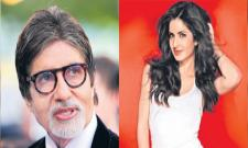 Father And daughter film for Amitabh Bachchan and Katrina Kaif - Sakshi