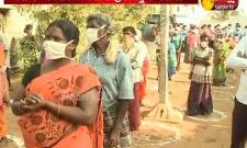 Kakani Govardhan Reddy Distributes Vegetables To People