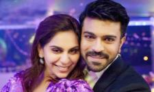 Ram Charans Birthday: Upasana Bakes Cake For Her Husband - Sakshi