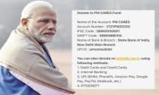 Corona Virus: PM Modi Announces CARES Fund for Donations - Sakshi