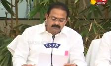 Aalla Nani Press Meet On Corona Patients In Andhra Pradesh