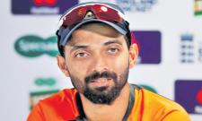 Ajinkya Rahane Donate 10 Lakh For Coronavirus - Sakshi