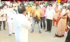 Bhumana Karunakara reddy Awareness on Tirupati lockdown