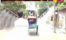 Minister Harish Rao inspection Sanitizer works in Siddipet
