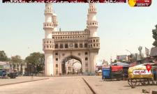 Charminar During Lock Down In Hyderabad