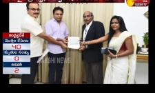 NATA donates Rs 20 lakh to CM relief fund