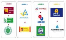 Six banks disappear with PSU banks Merger - Sakshi