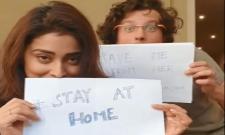 Sriya Saran Gave Awareness About Coronavirus In Instagram - Sakshi