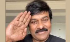 Chiranjeevi Salute To Telugu State Police For Battle Against Corona Virus - Sakshi