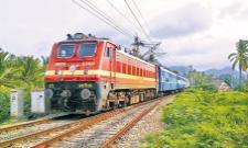 Decision on the resumption of trains after April 12 - Sakshi