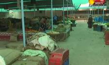Selling Vegetables At Low Prices In LB Nagar