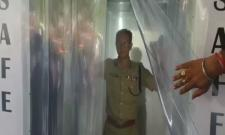 S3V Disinfectant Tunnel installed At Andhra Pradesh DGP Office
