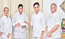 Film Nagar Cultural Center Donated to CM Relief Fund - Sakshi