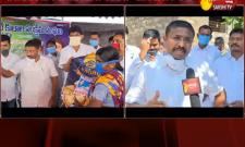 Adimulapu Suresh Distributes Essential Commodities For People