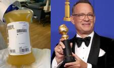Tom Hanks donates Plasma - Sakshi