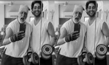 Amitabh Bachchan and grandson Agastya Nanda hit the gym workouts - Sakshi