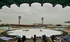 Amphan Cyclone: Eden Gardens spared from Amphans wrath - Sakshi