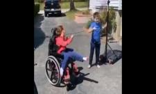 Brother Helping Specially Abled Sister Score Basket Video