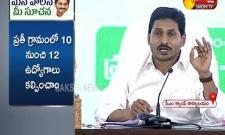 AP CM YS Jagan Speech in Mana Palana- Mee Suchana' Program