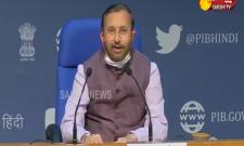 Prakash Javadekar Press Conference At New Delhi