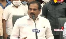 Minister Kurasala Kannababu Press Meet At Visakhapatnam