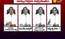 Sajjala Ramakrishnareddy Fires On Nimmagadda Rameshkumar