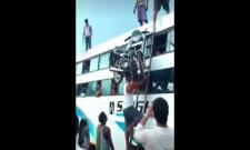 Man Climbs Ladder With A Bike on His Head Video Gone Viral