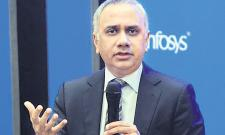 Infosys CEO Salil Parekh Income 34.27 Crore - Sakshi