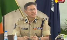 AP DGP Gowtham Sawang Press Meet On Spandana Portal
