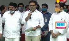 Minister KTR & Kishan Reddy Participated In Lay Foundation For Steel Bridges At Indira Park Video